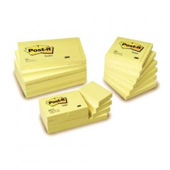 Sticky notes Post-It 76x76mm yellow