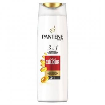 Pantene Shampoo 3in1 Lively Color 225ml