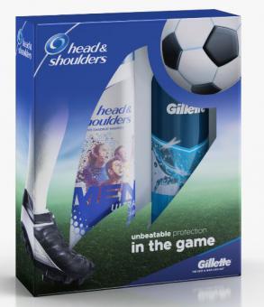 H&S+Gillette giftbox