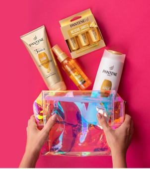 Pantene giftbag with products
