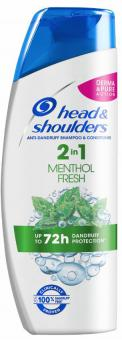H&S shampoo 2in1 Menthol 225ml