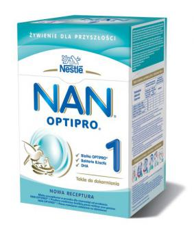 follow-on milk NAN OPTIPRO  1 for infants from 6 months of age 2x400g