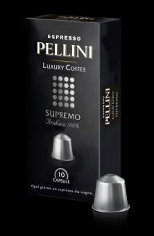 Coffee capsules PELLINI Supremo, 50g