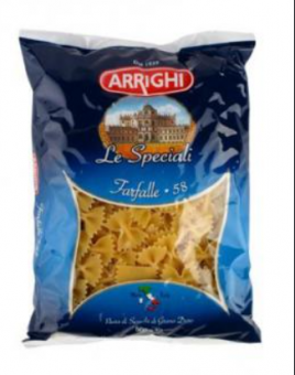 Pasta ARRIGHI, farfalle, No 58, 500 g