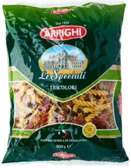 Pasta ARRIGHI, fusilli tricolori, 5 kg