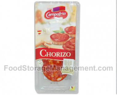 Dried pork sausage Chorizo, sliced, I r., 80g