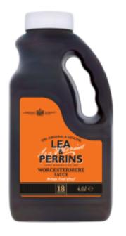 L&P Worcester Sauce   (Expt)( 2)     4lt