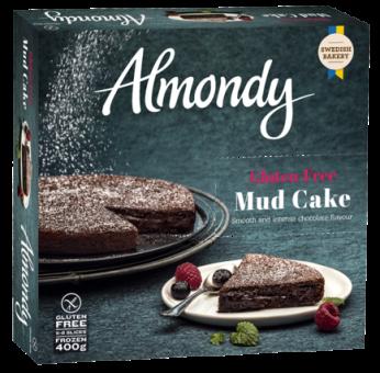Frozen mudcake ALMONDY, 400 g