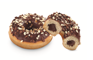 Donut DOTS, with chocolate filling and chocolate sprinkles, frozen,75g