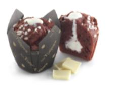 Muffins LES TULIPES,Red Velvet, white chocolate, american, frozen,110g