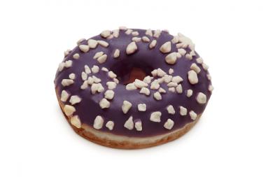 Donut DOTS Purple White, frozen, 57 g x 36 pcs.