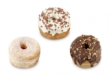 Mini donuts CRODOTS Assortment, frozen, 40 g x 54 pcs.