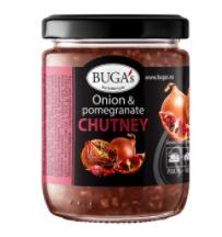 Onion and pomegranate chutney BUGA's, 170 g