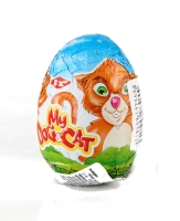 Egg CHOCO STARS with surprise toy, 25 g