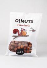 Hazelnuts O!NUTS, 150 g