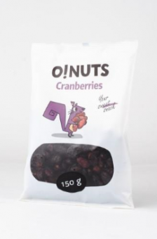 Cranberries O!NUTS, 150 g