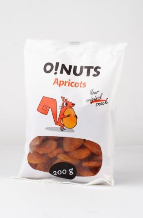 Apricots O!NUTS, 200 g