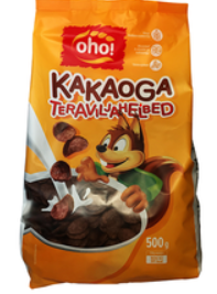"""Breakfast cereal Cereals with cocoa 500g """"Oho!"""""""