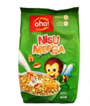"Breakfast cereals Wheat with honey 500g ""Oho!"""