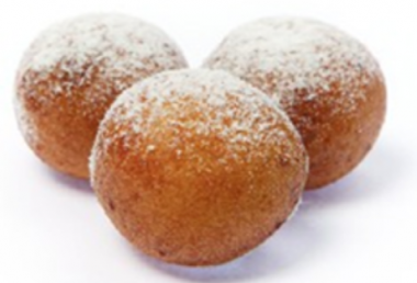 Frozen curd donuts, with cherry filling, 1 kg