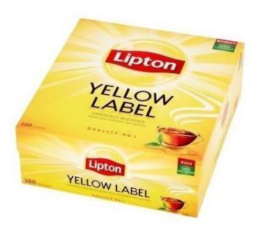 LIPTON Yellow Black tea 100x1,8g fool-ga
