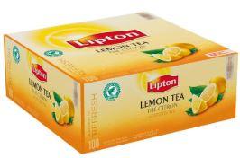 Black tea LIPTON Classic, with lemon, 1.6g100 pcs