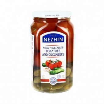 NEZHIN, Marinated mixed vegetables  style NR 1, 920g