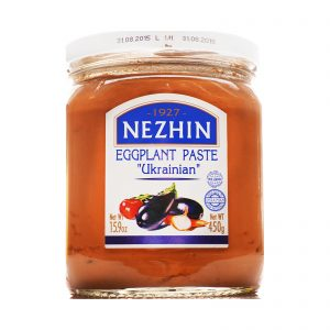Eggplant paste Ukrainian NEZHIN, 450 g