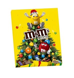 M&MS & Friends Advent Calendar Christmas 2020 361g