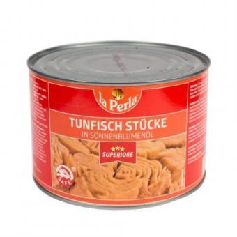 LA PERLA SUPERIORE Tuna chunks in oil 1,4 kg