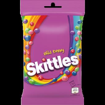 SKITTLES Wild Berry Pouch, 125g