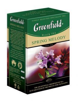 GREENFIELD Spring melody black tea 100 g
