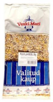 VESKI MATI Whole grain muesli with fruits 2kg