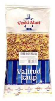 VESKI MATI Crunchy muesli with berries 2kg