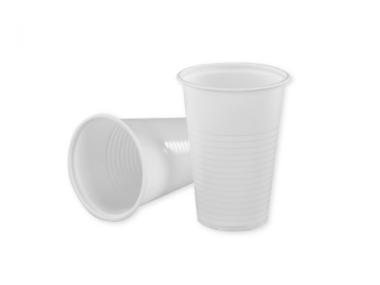 Plastic cup 200ml- white 50pcs/pack