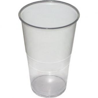 Plastic beercup 500ml