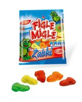 Gummies FIGLE MIGLE Frogs, 80 g