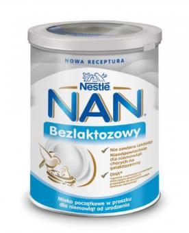 Infant milk formula NAN LACTOSE FREE 400g