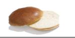 Hamburger bun Brioche 86g